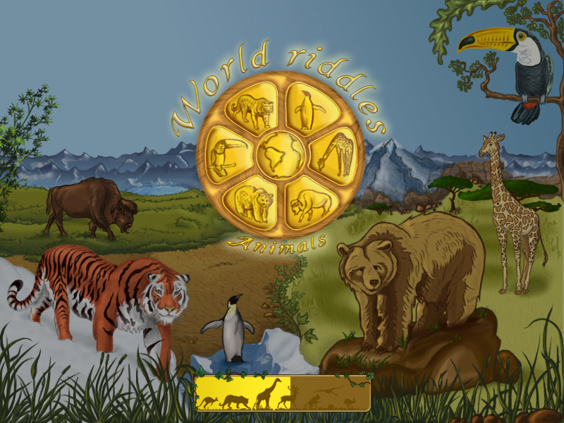 World Riddles: Animals Windows Loading screen