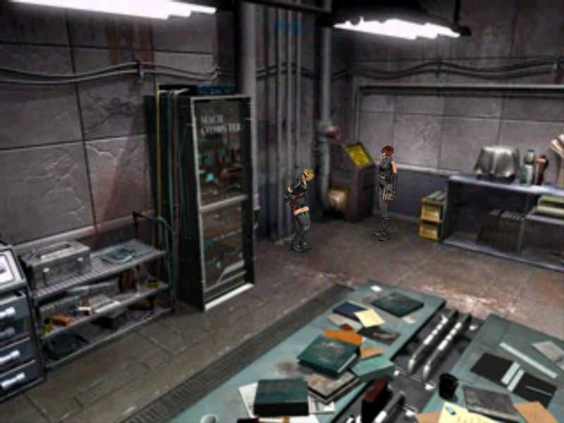 Dino Crisis 2 Windows Cuffing a prisoner until you find some resources for questioning.