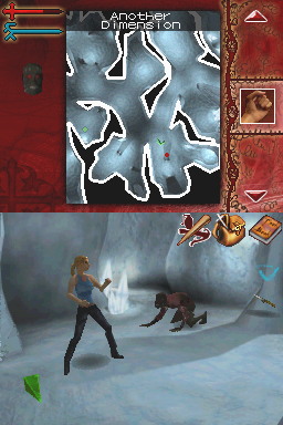Buffy the Vampire Slayer: Sacrifice Nintendo DS Ingame - fighting in another dimension