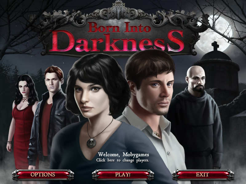 Born Into Darkness Windows Main menu