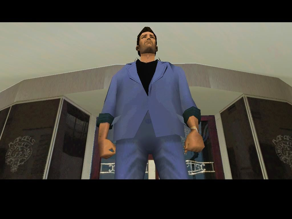 Grand Theft Auto: Vice City Windows Changing clothes so I can attend a rich party.