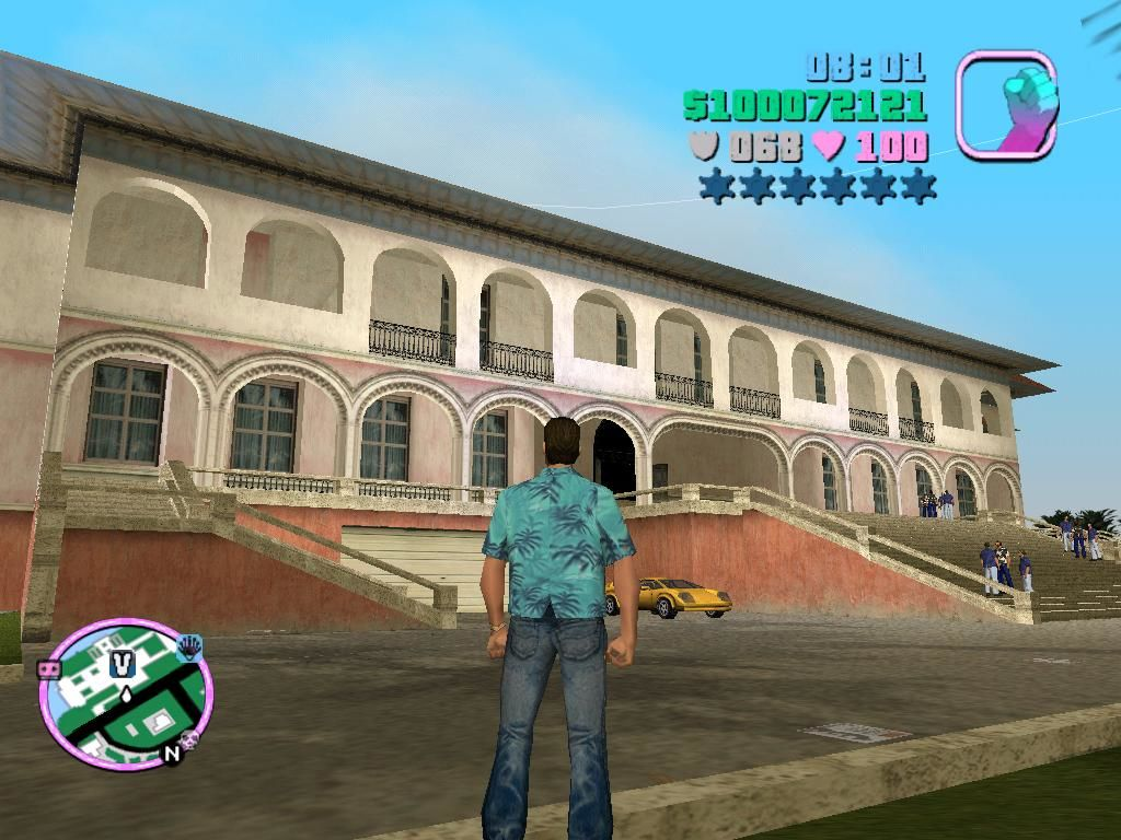 Grand Theft Auto: Vice City Windows You see this mansion?  It now belongs to me, and what a glorious mansion it is.