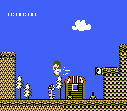 Kid Kool and the Quest for the Seven Wonder Herbs NES In the second world everything looks mushroom-ey. Be careful with those puffs of air.
