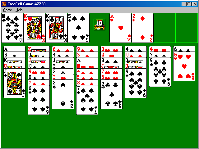Microsoft Games Freecell