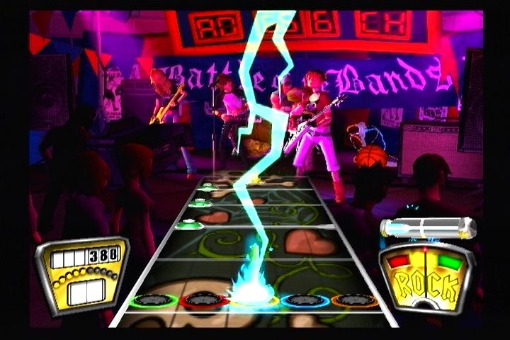 Guitar Hero II PlayStation 2 Hit All The Star Frets To Raise Your Power