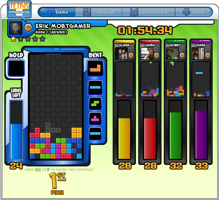 tetris browser game