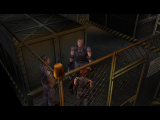 Dino Crisis PlayStation Game start