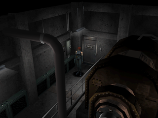 Dino Crisis PlayStation Generator room