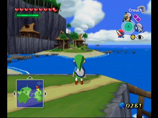 the legend of zelda the wind waker screenshots for gamecube mobygames