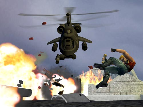 Duke Nukem: Manhattan Project Windows Fighting helicopters may be dangerous