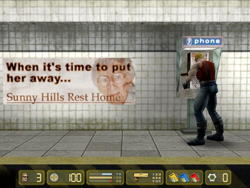 Duke Nukem: Manhattan Project Windows Hello, grandma ?