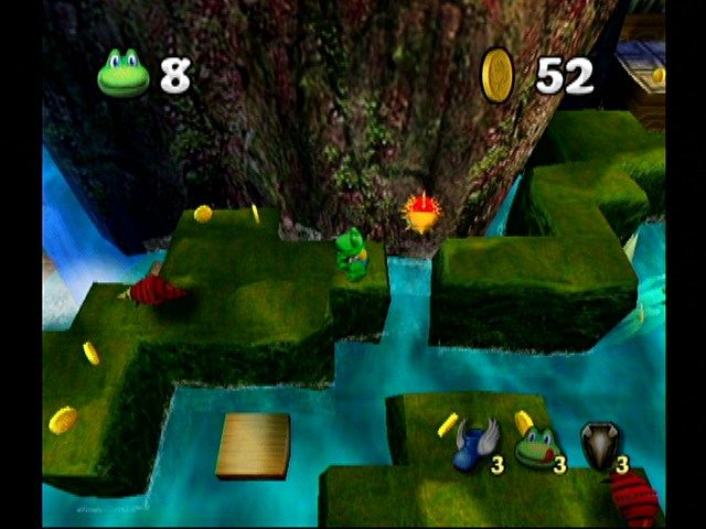 Frogger Beyond GameCube The Rainforest