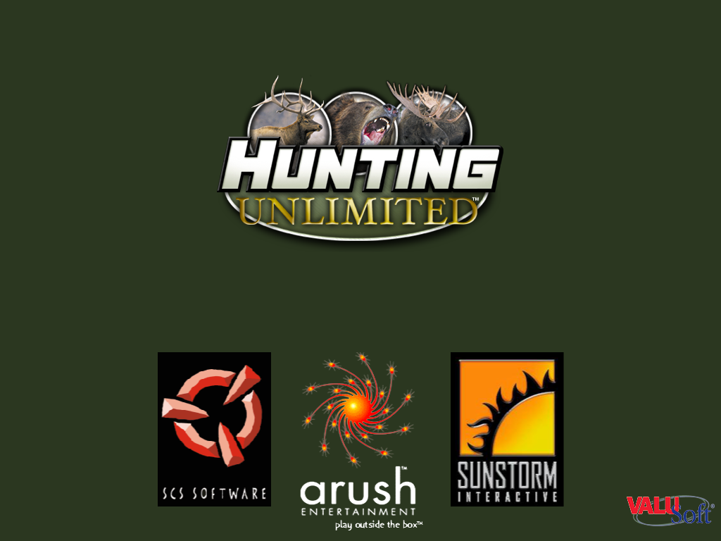 Hunting Unlimited Windows Title Screen