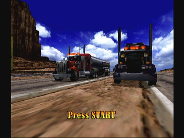 Eighteen Wheeler: American Pro Trucker GameCube Introduction