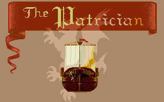 The Patrician Atari ST Title screen