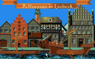 The Patrician Atari ST The harbour in Lübeck