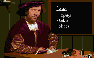 The Patrician Atari ST At the bank you can take or offer loans