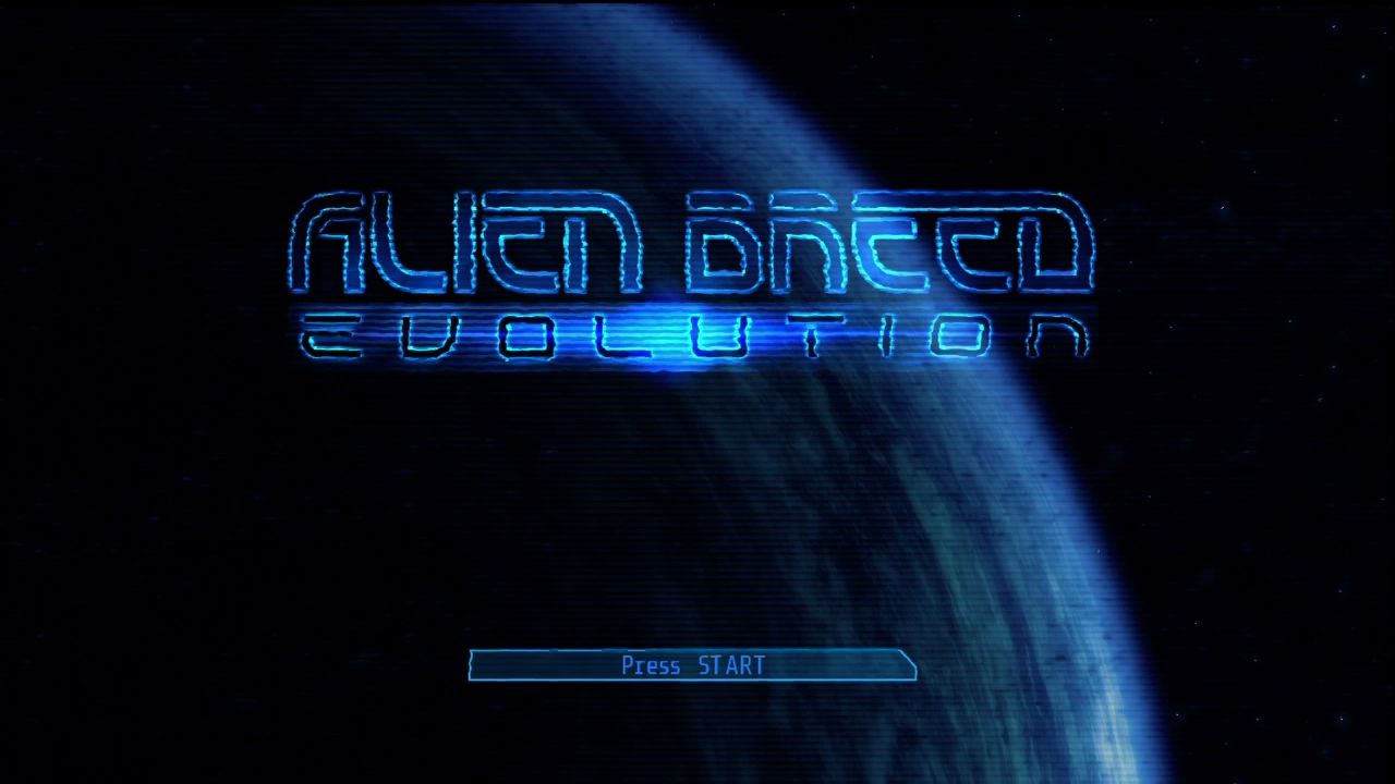 Alien Breed: Evolution - Episode 1 Xbox 360 Title screen.