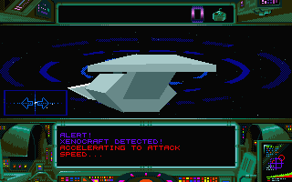Zero 5 Atari ST That's one big enemy ship