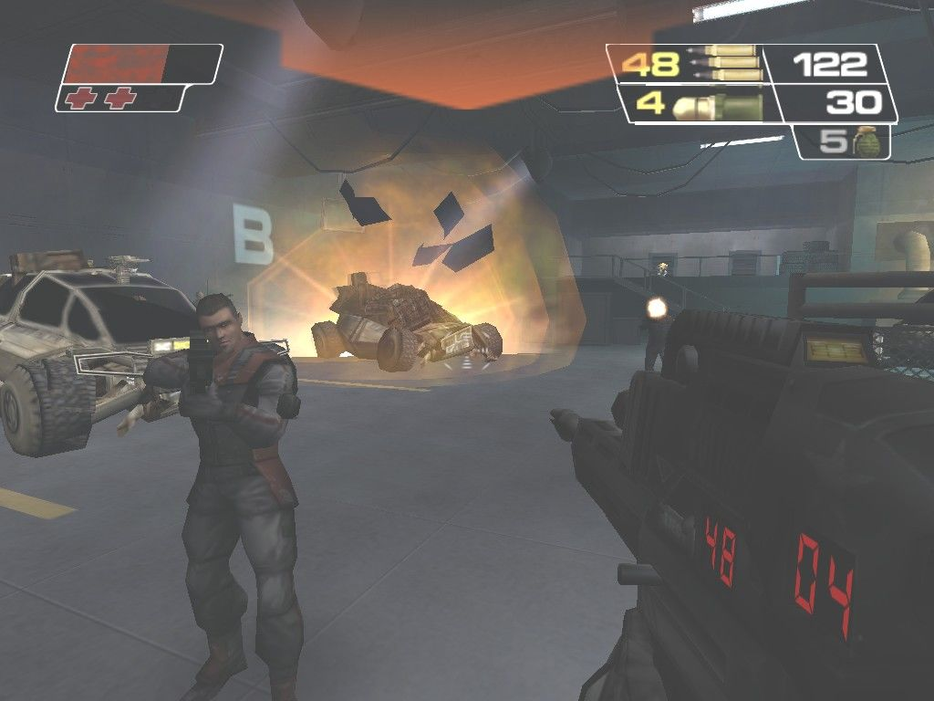 Red Faction II Windows The first mission is a prequel to the game, as Sopot Elite Guard Alias infiltrates a foreign military base to steal Capek's Nanocell, the object responsible for this entire mess