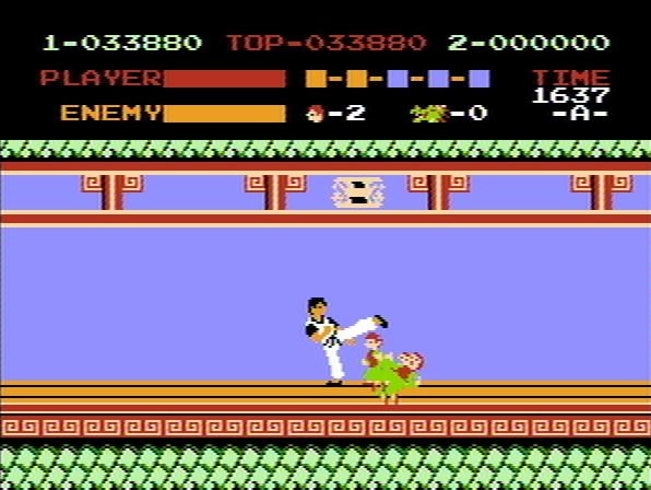 Kung-Fu Master NES Pack of gnomes.