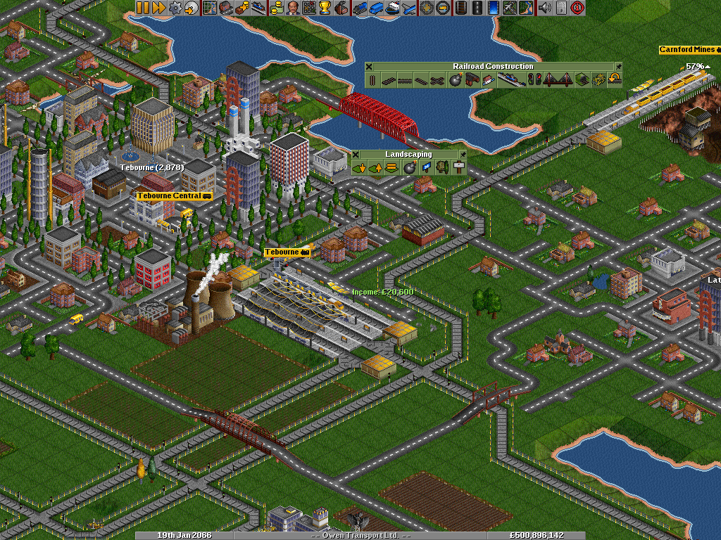 OpenTTD Windows Nuclear station