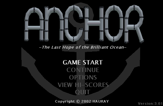 Anchor: The Last Hope of the Brilliant Ocean