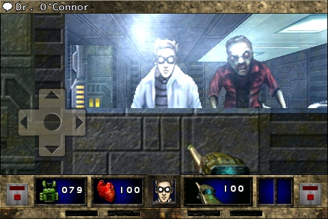 DOOM II RPG iPhone The guy on the left is me - that other one? That's Joe from accounting...