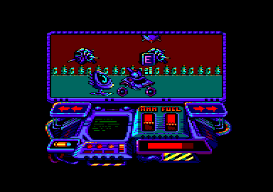 Buggy Ranger Amstrad CPC Under attack!