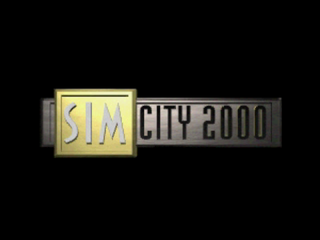 SimCity 2000 PlayStation Title screen