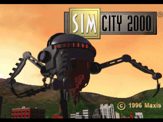 SimCity 2000 PlayStation Loading screen