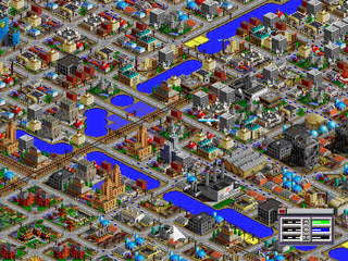 SimCity 2000 PlayStation Air crash