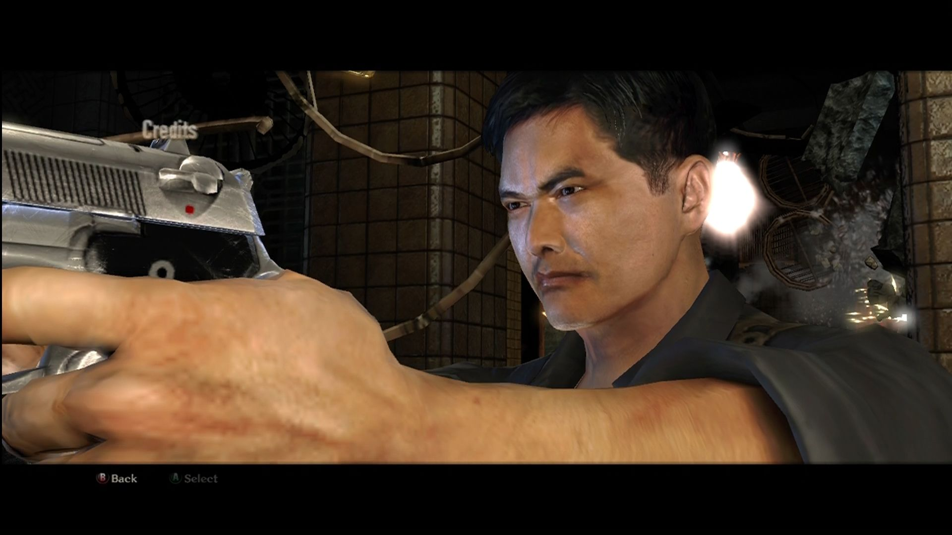 Stranglehold Xbox 360 Chow Yun Fat lends his voice and his face to Tequila.