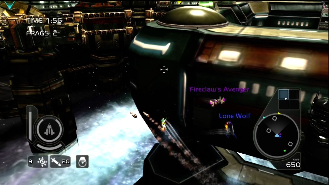 Wing Commander Arena Xbox 360 Ships have their own special attacks, like missiles and mines.