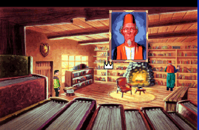 King's Quest VI: Heir Today, Gone Tomorrow Windows 3.x The book shop - win 3.x
