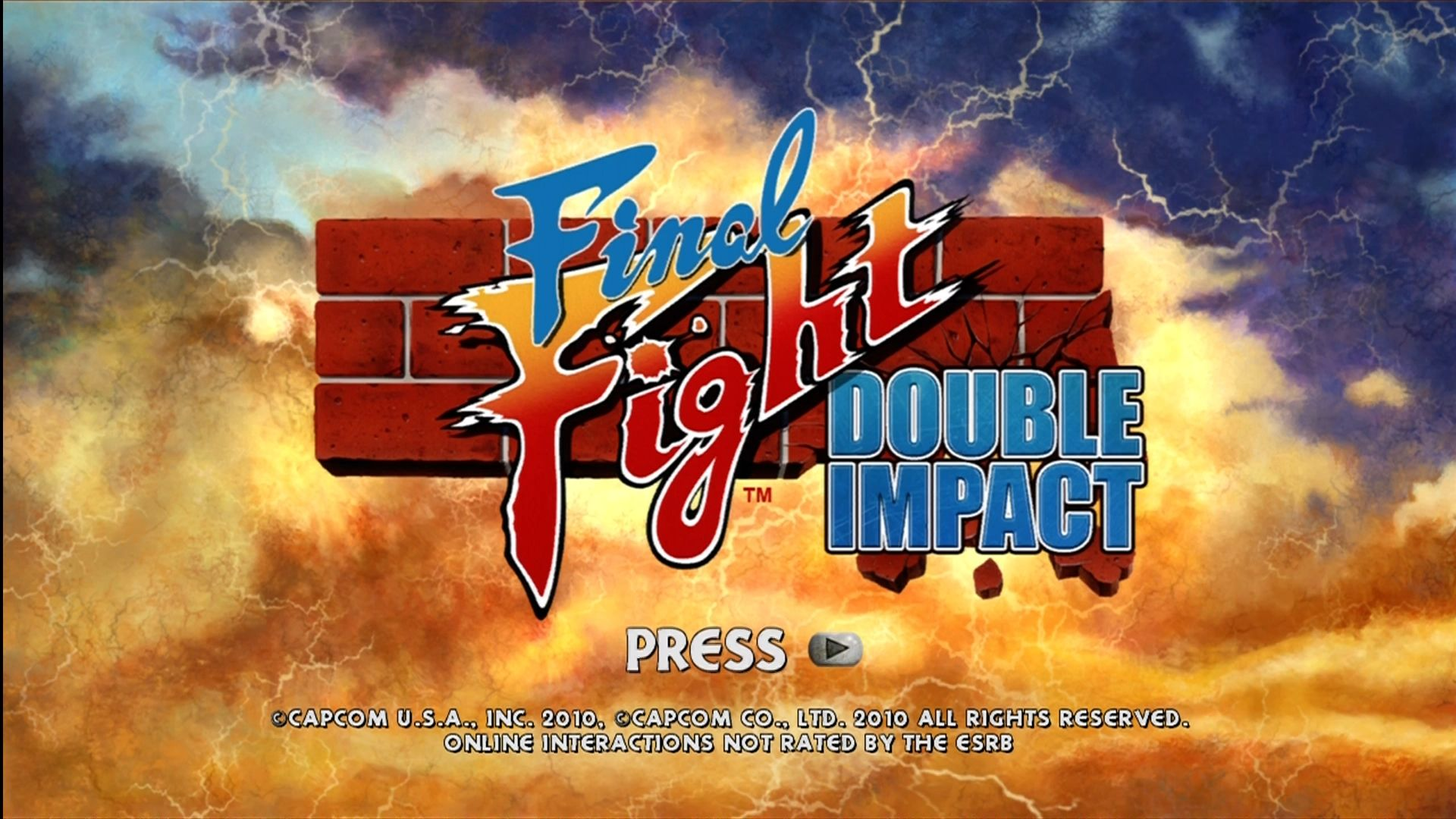 Final Fight Double Impact Screenshots For Xbox 360 Mobygames