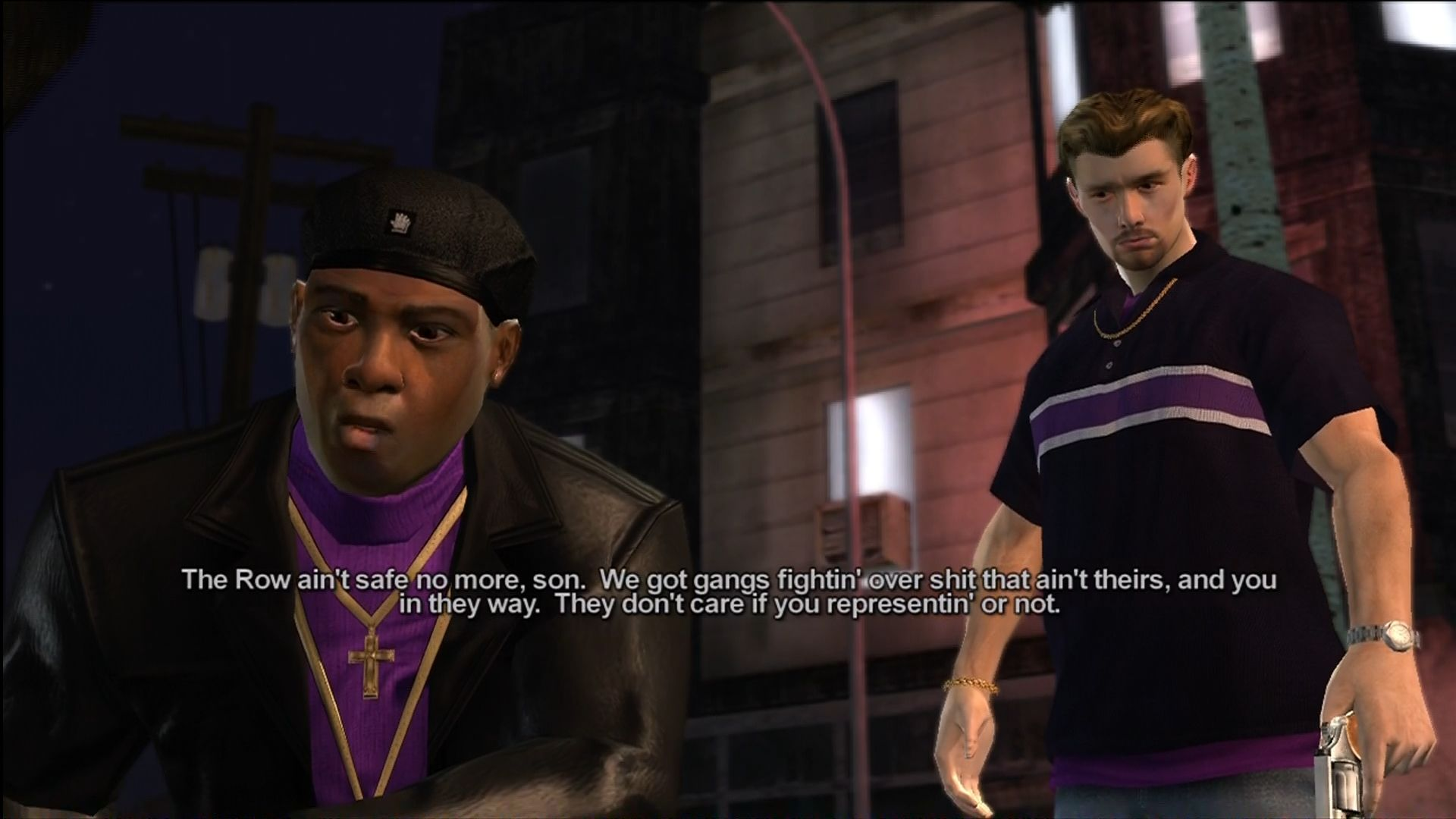 Saints Row Xbox 360 Julius (Keith David) recruits you into The Saints.