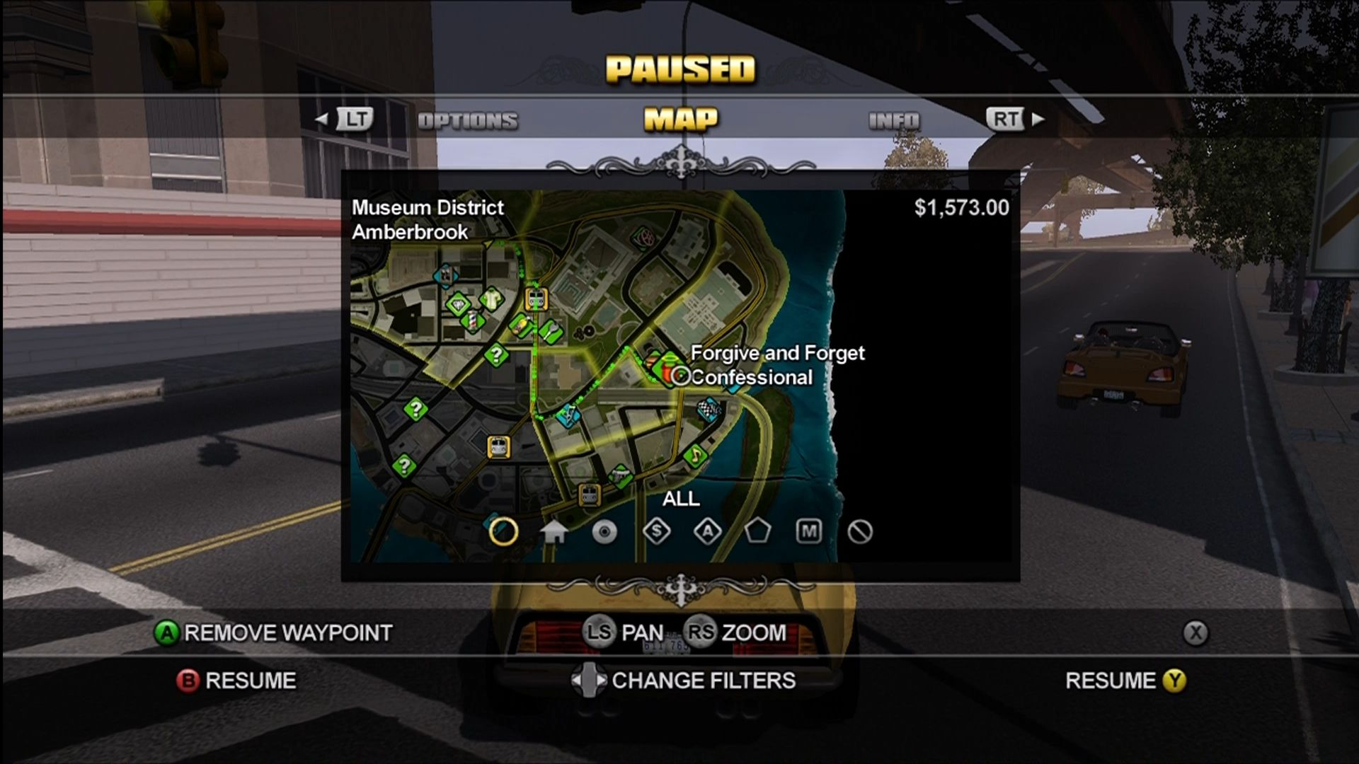 Saints Row Xbox 360 The map/GPS will guide you to placed waypoints.