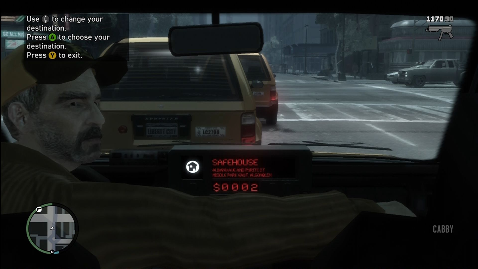 Grand Theft Auto IV Xbox 360 Taxis offer quick travel to any mission or point of interest.