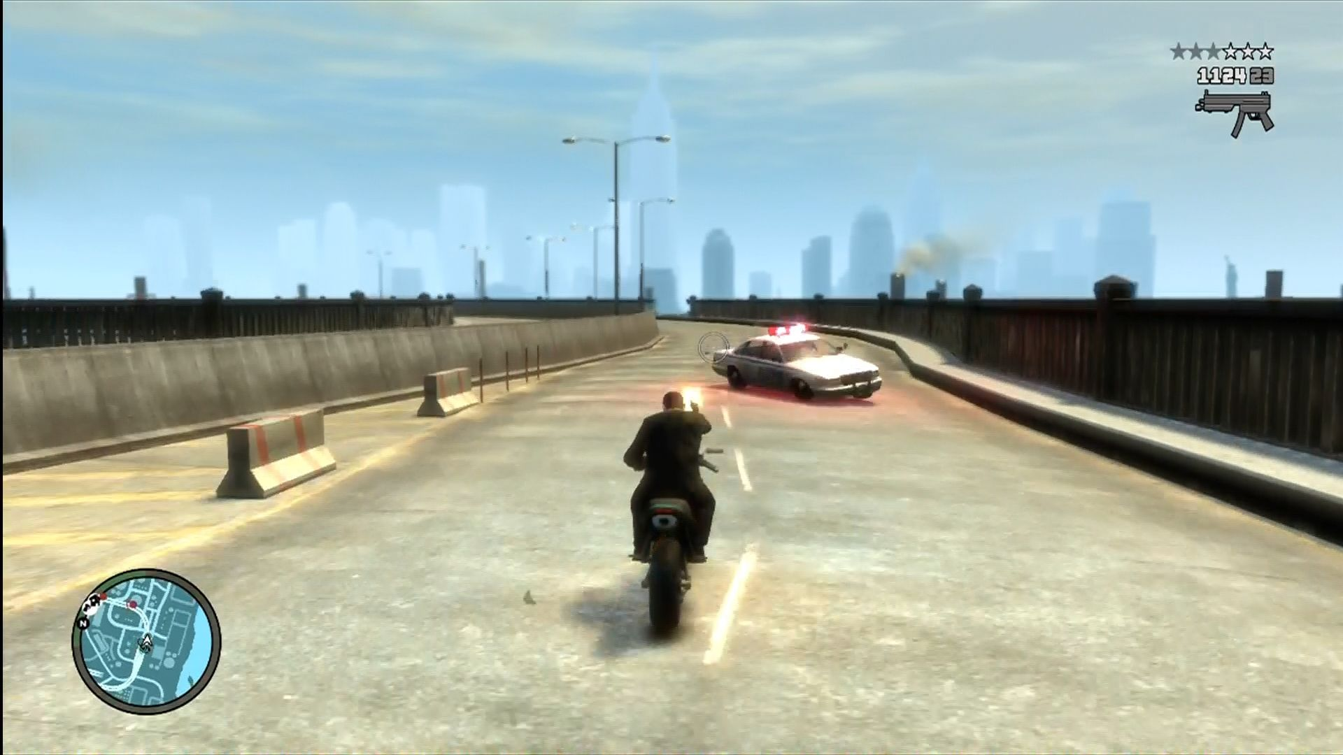 Grand Theft Auto IV Xbox 360 Cops love it when you do this.