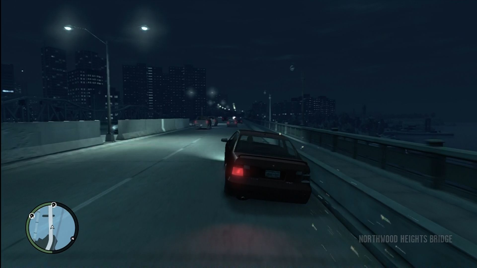 Grand Theft Auto IV Xbox 360 Sparks fly and cars show appropriate damage.