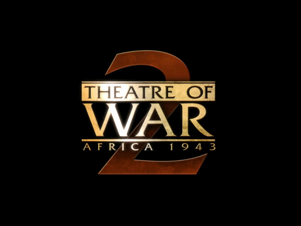 Theatre of War 2: Africa 1943 Windows Title screen (demo version)