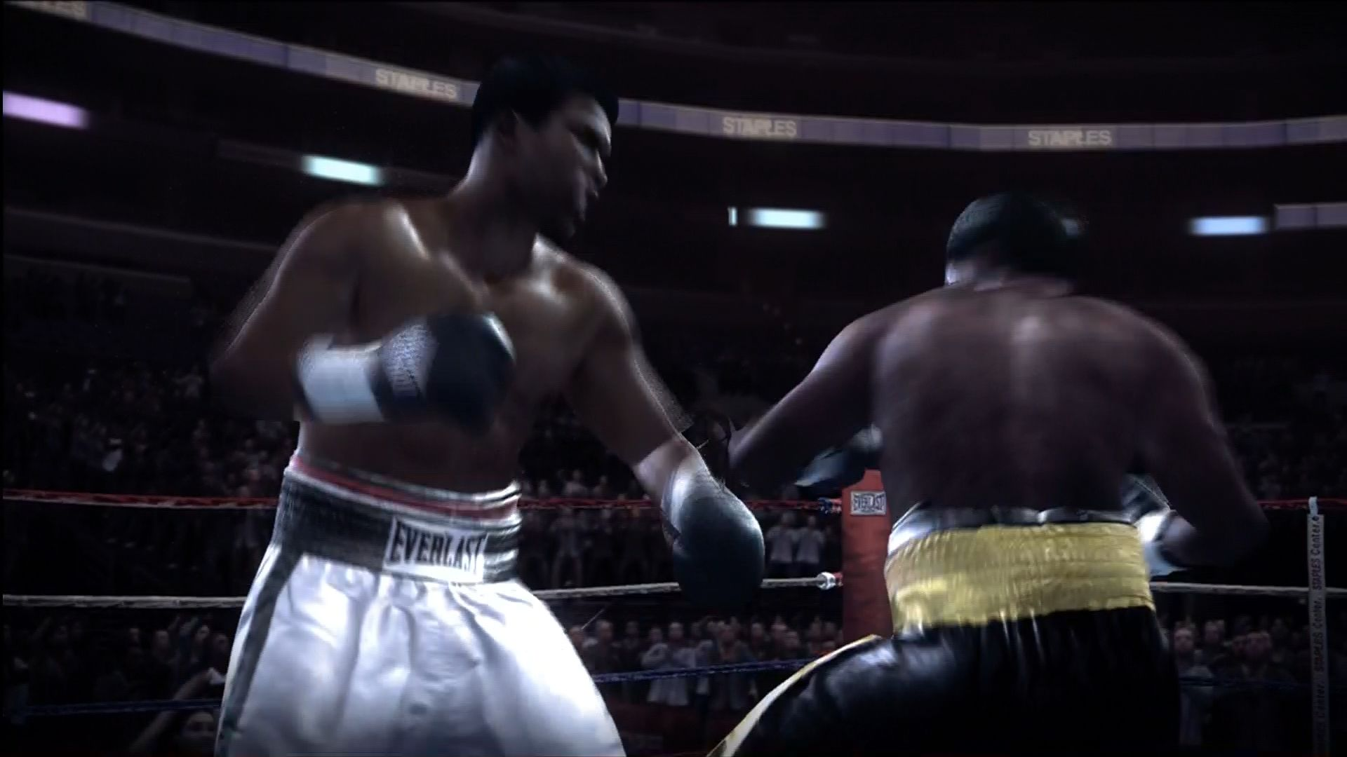 Fight Night Round 3 Xbox 360 Ali vs Frazier.
