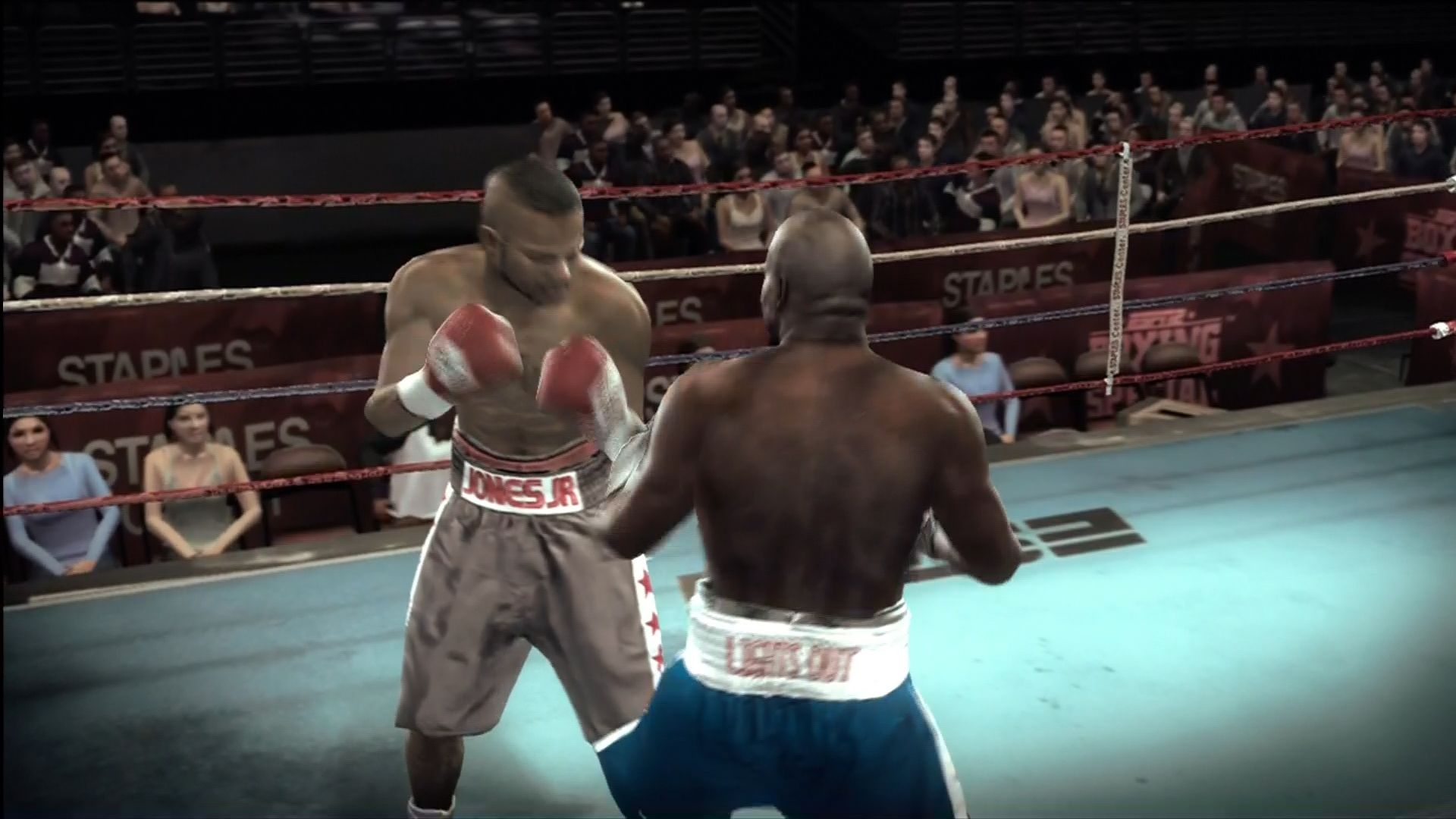 Fight Night Round 3 Xbox 360 Another classic fight replicating an 80s tv broadcast.