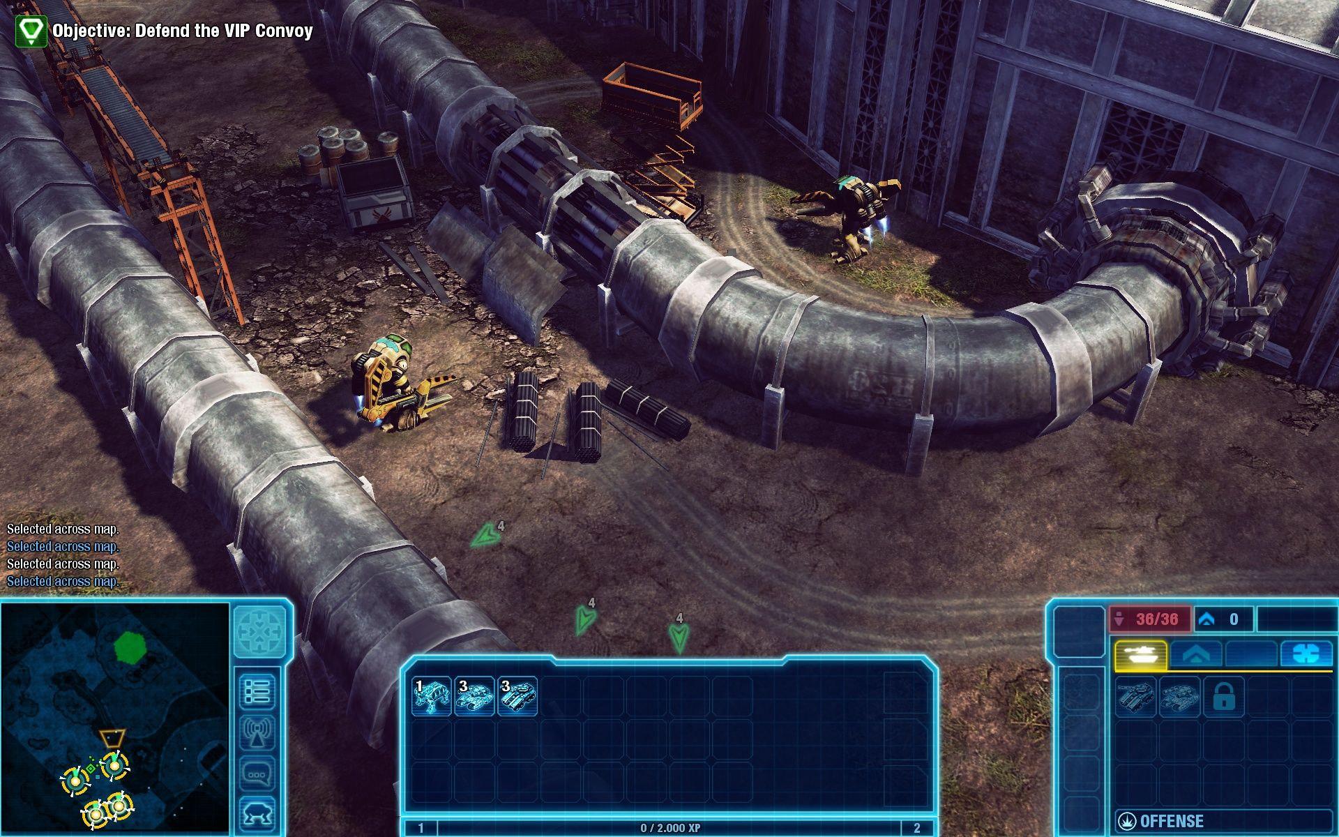 Command & Conquer 4: Tiberian Twilight Windows The engineers are faking a pipeline-repair.