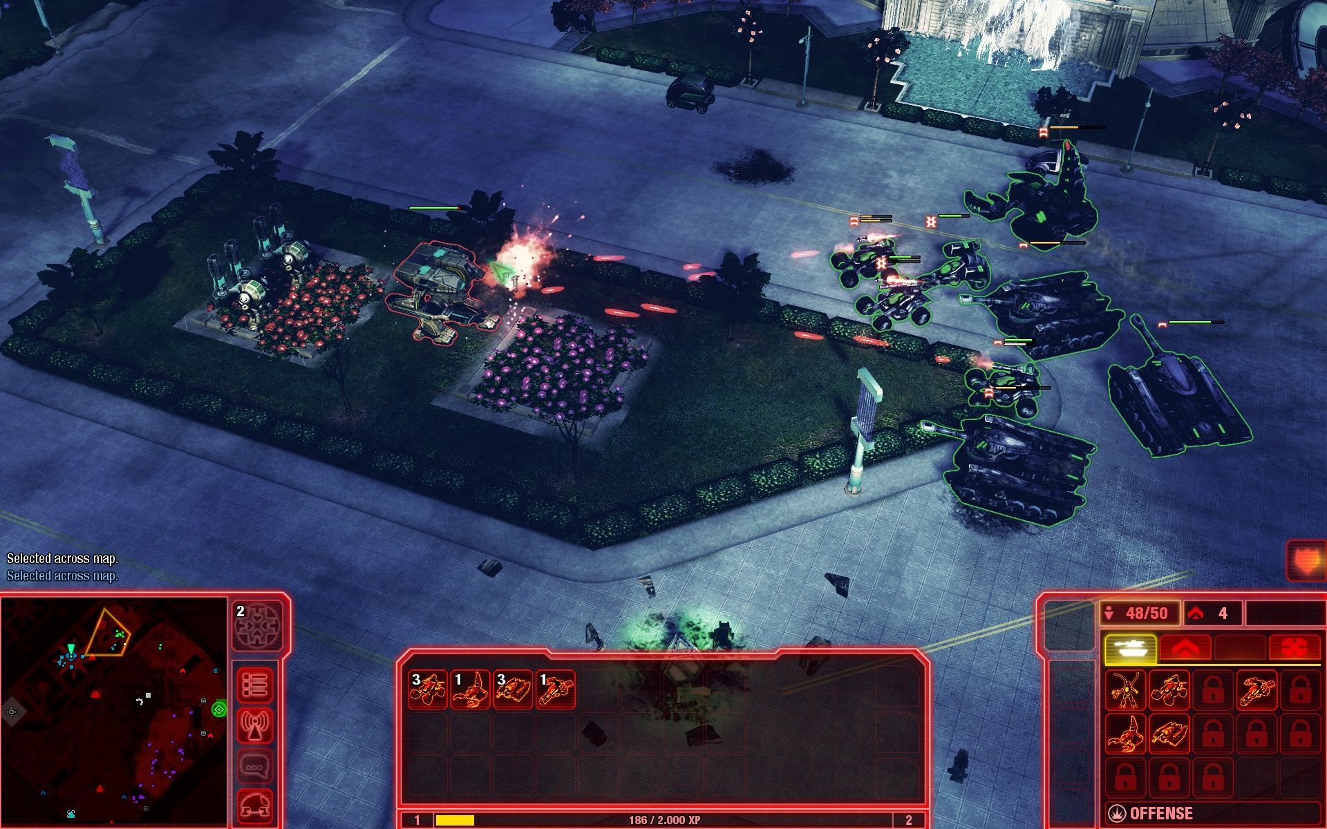 Command & Conquer 4: Tiberian Twilight Windows That GDI-mech has no chance against my NOD-troops.