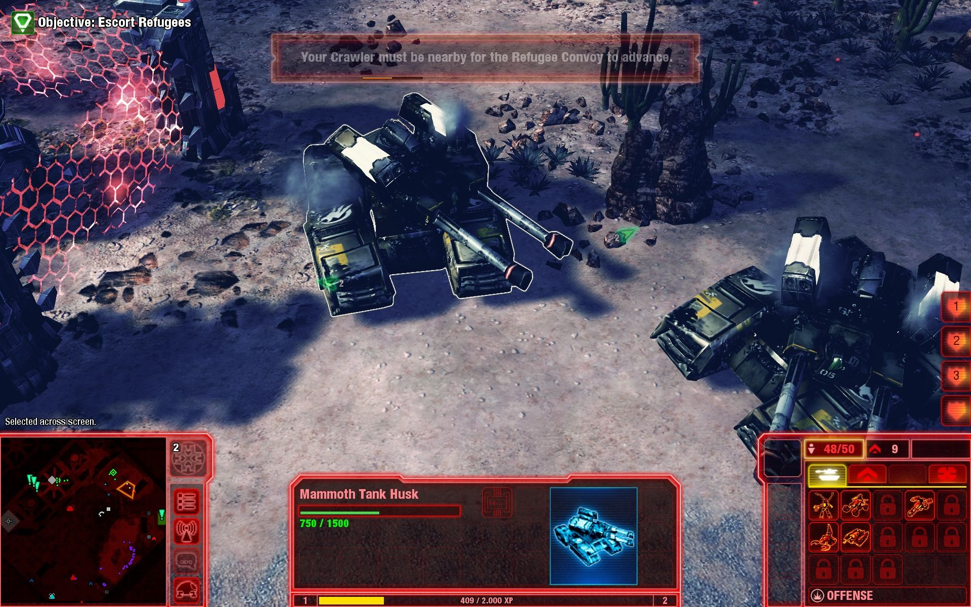 "Command & Conquer 4: Tiberian Twilight Windows ""Get an engineer! It's time for harvest."""