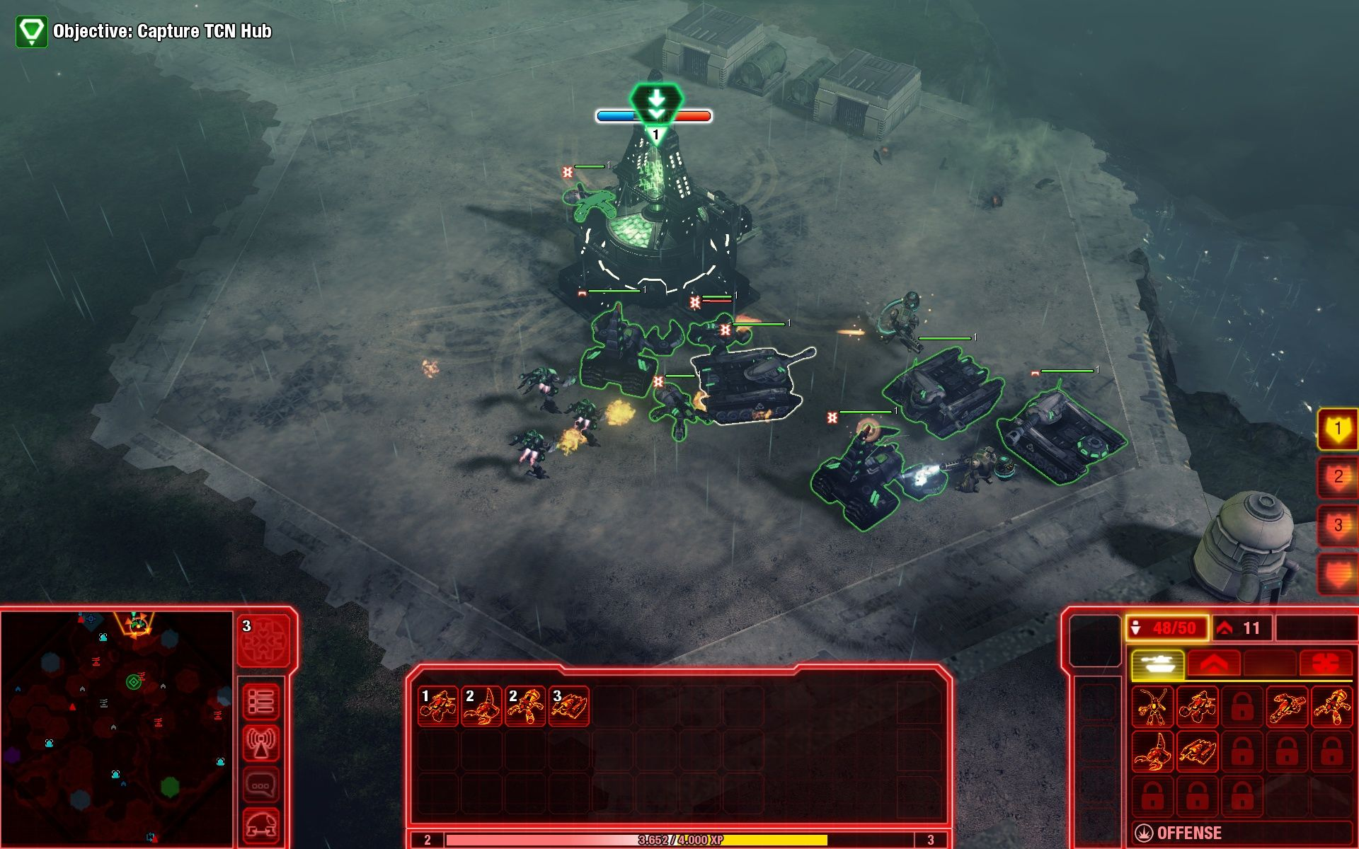 Command & Conquer 4: Tiberian Twilight Windows A TCN Hub being captured for NOD.