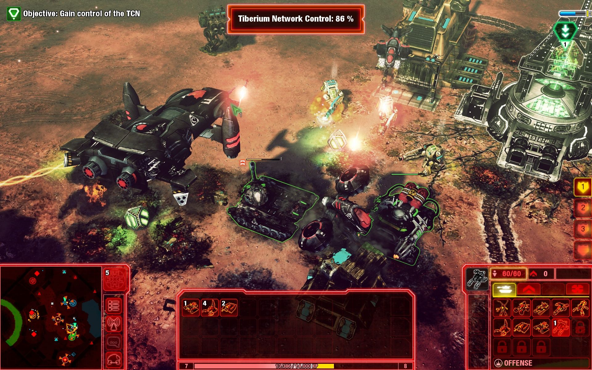 Command & Conquer 4: Tiberian Twilight Windows Up close the graphics look somewhat decent.
