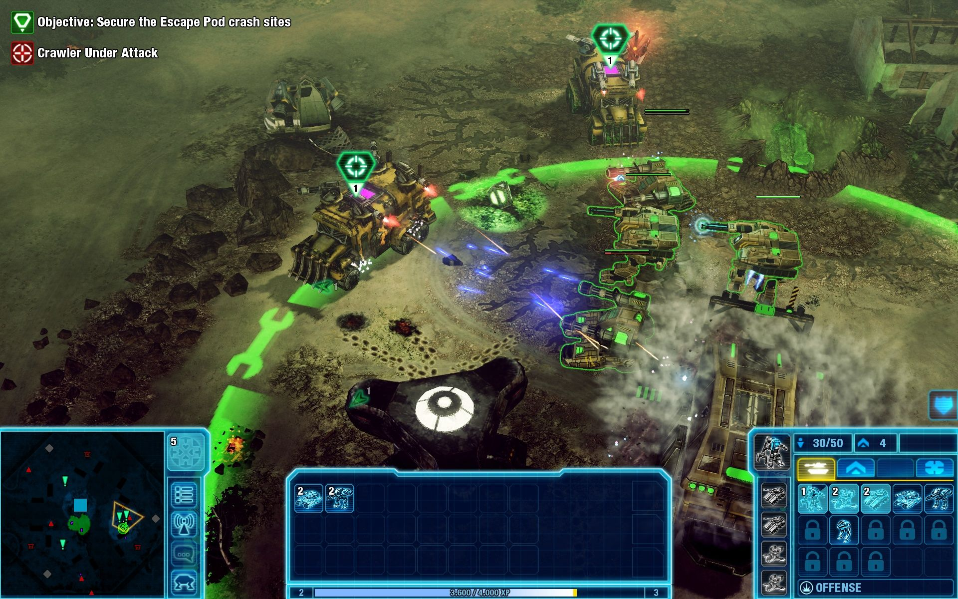Command & Conquer 4: Tiberian Twilight Windows Why do non-contralable factions always get the coolest units?